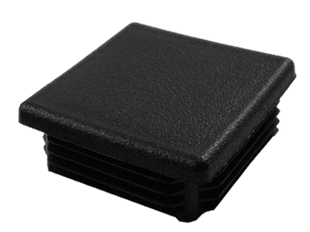 Čepicka PVC 80x80mm, černá 0,03Kg