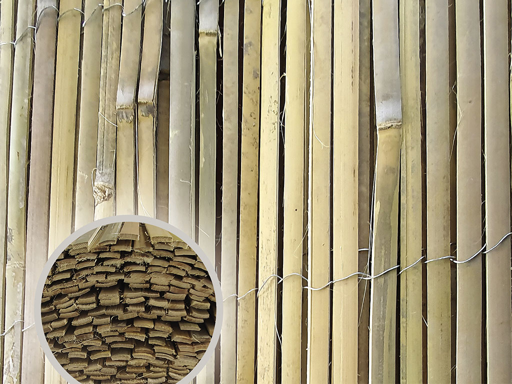 BAMBOOPIL - štípaný bambus 1000/5m 7,5Kg