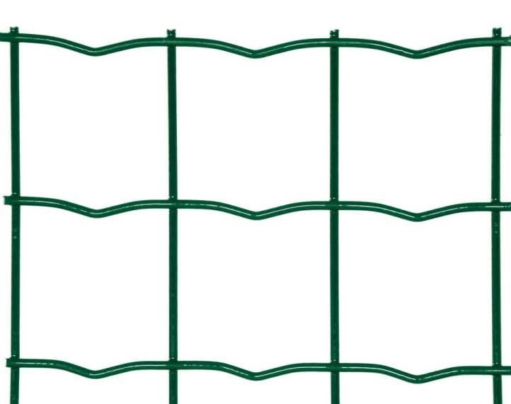 Svařovaná síť Zn + PVC PILONET HEAVY 1500/50x50/25m - 2,5mm, zelená 39,4Kg