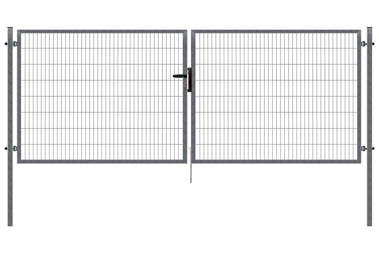 Brána PILOFOR SUPER dvoukřídlá, 4090x1380 mm, Zn 54,7Kg