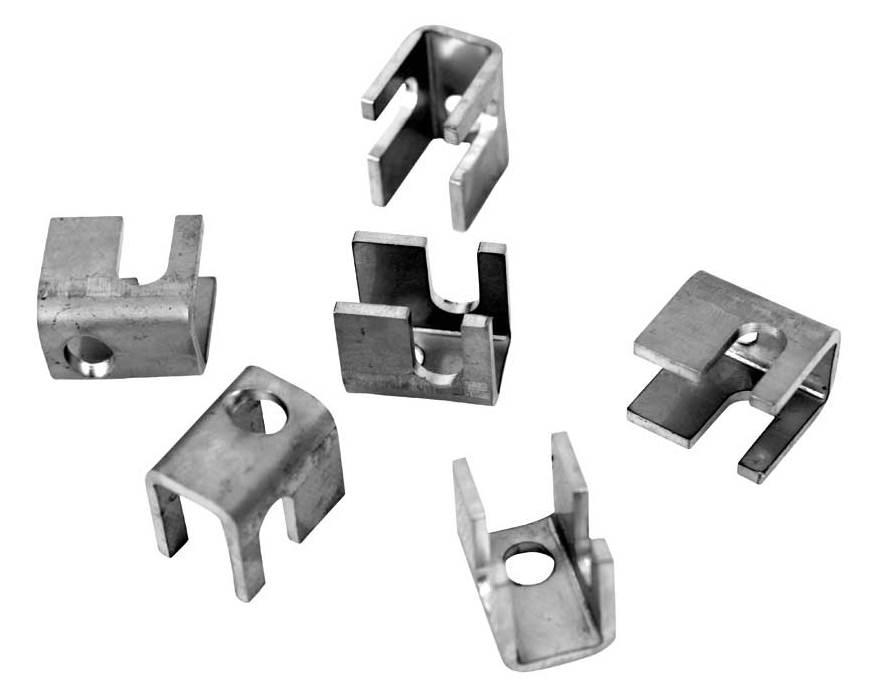 Příchytka nerezová panelu PILOFOR SUPER ke konstrukci branky a branky 0,01Kg