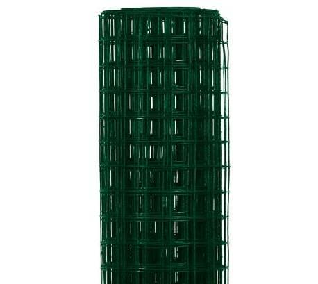 Chovatelská svařovaná síť Zn+ PVC 25x25/2,0/1000/10m, zelená 16,2Kg