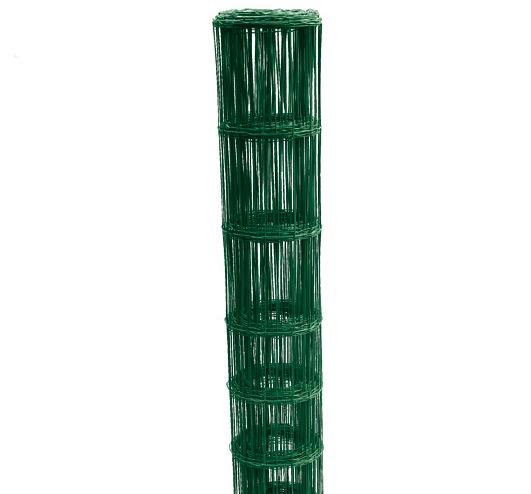 Svařované pletivo Zn + PVC BENITA 1600/13/150/25m, zelené 10,4Kg