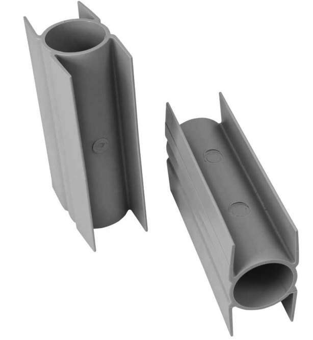 Stabilizacní držák průběžný PVC, 200/Ø 38mm, šedý 0,19Kg