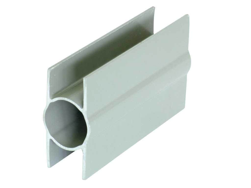 Stabilizacní držák průběžný PVC, 200/Ø 48mm, šedý 0,24Kg