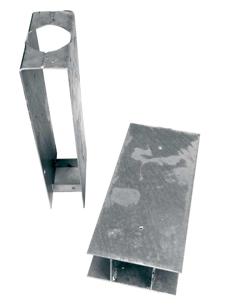 Stabilizační držák průběžný Zn, 300/Ø 48 1,35Kg