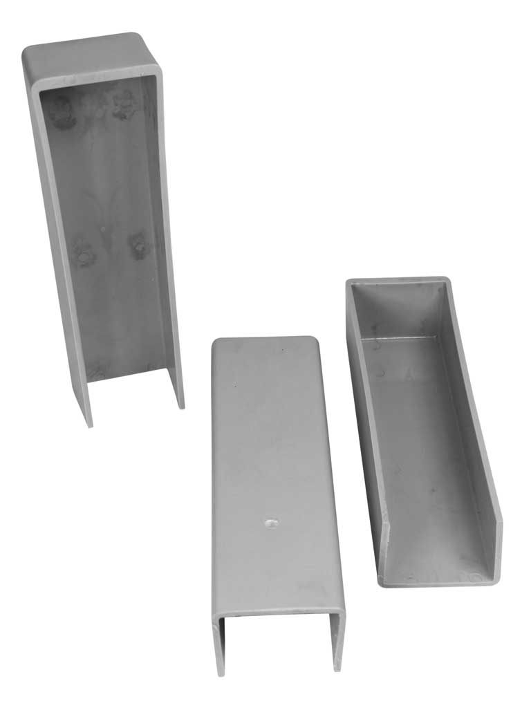 Stabilizacní držák koncový PVC, 200mm, šedý 0,08Kg