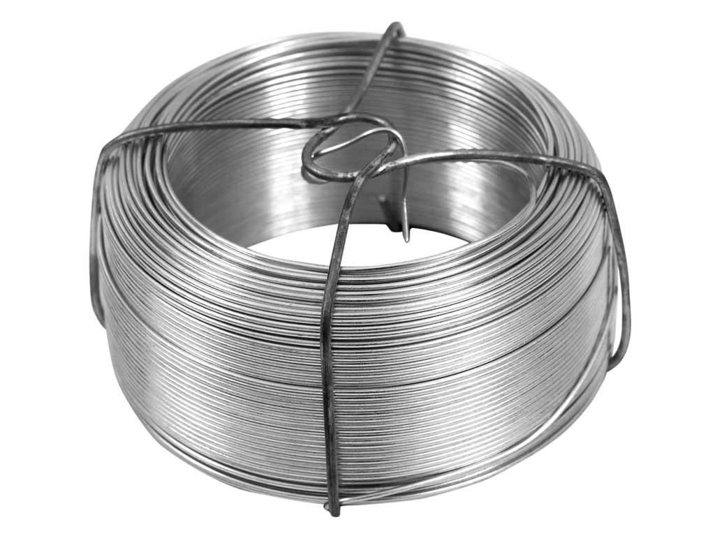 Vázací drát Zn 1,2/100m v drátěném obalu 0,94Kg