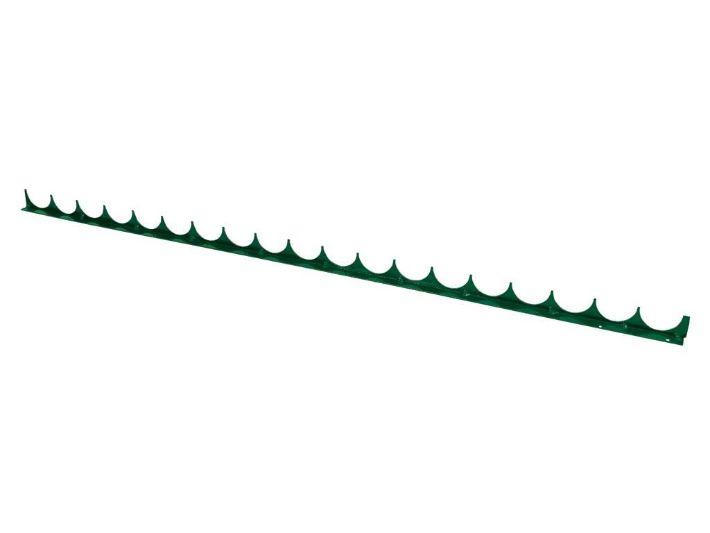 Protipřelezová pilka Zn + PVC 980/40, zelená 0,61Kg