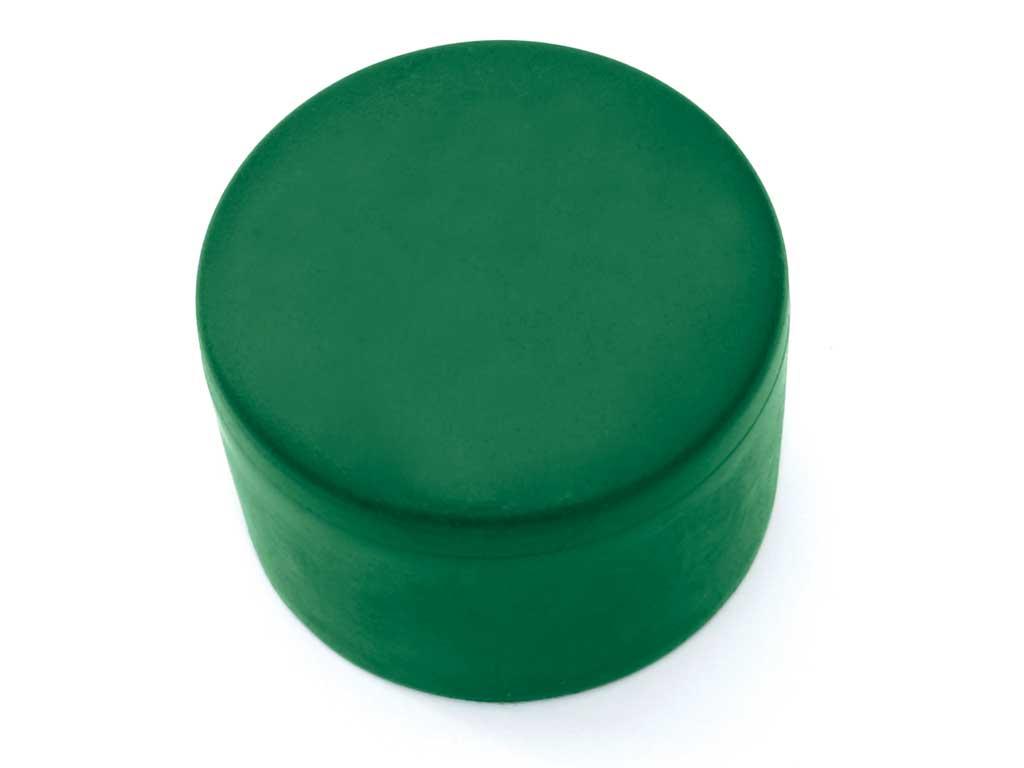 Čepicka PVC 38mm, zelená 0,01Kg
