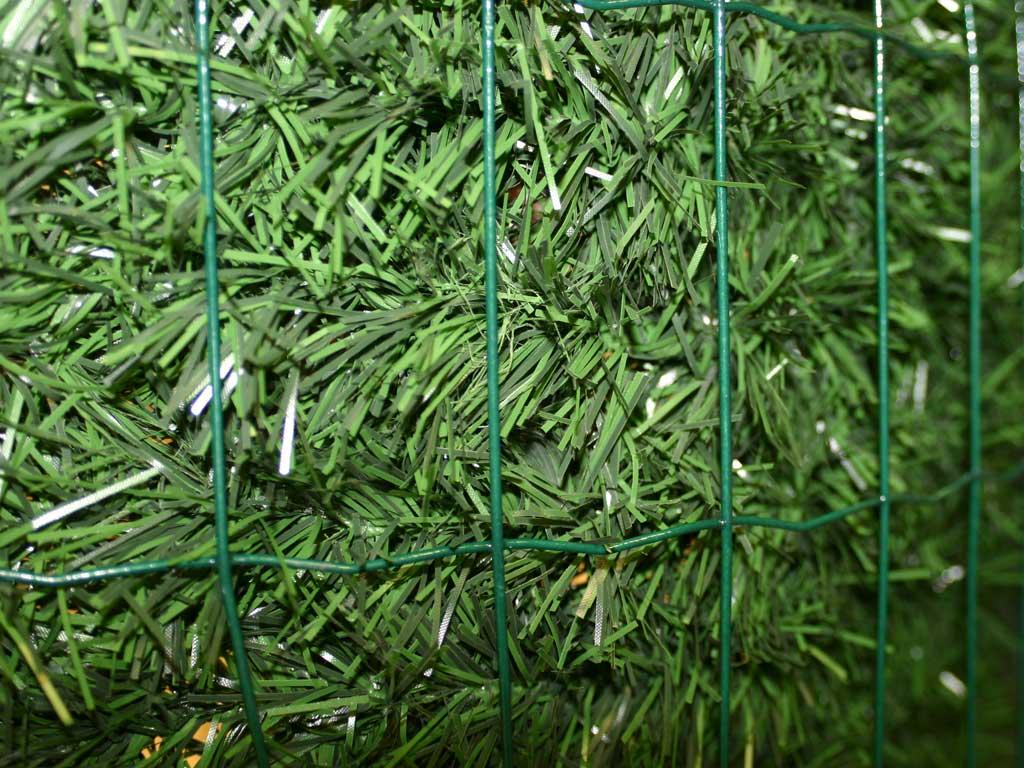 Umělý živý plot 1500x3000mm, stínění 95 %, zelený 5,7Kg