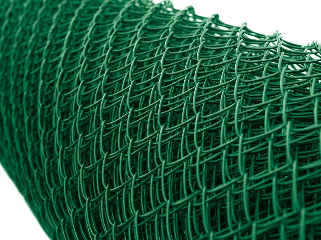 Čtyřhranné pletivo IDEAL TENISOVÉ NEZAPLETENÉ PVC 400/45x45/18m - 1,8/2,7mm, zelené 86,5Kg