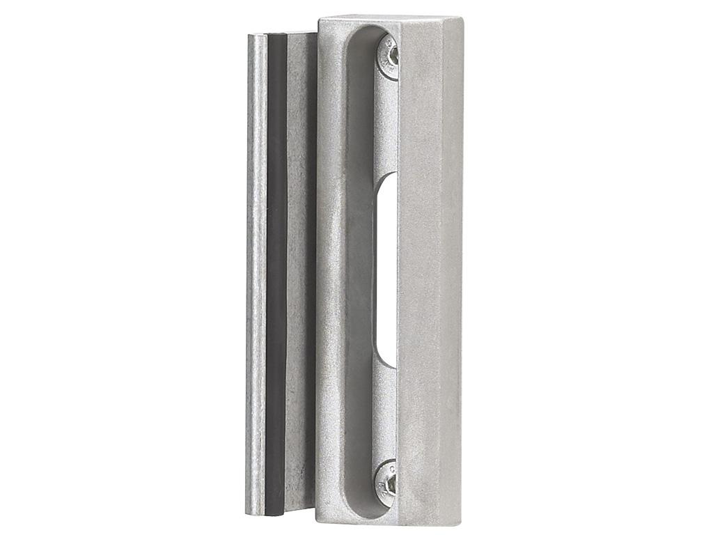 Doraz křídlové branky nebo brány SAKL QF -stříbrný LOCINOX 0,49Kg