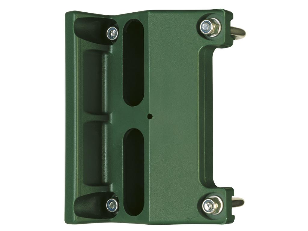 Doraz křídlové branky nebo brány SKRZ -zelený LOCINOX 0,21Kg