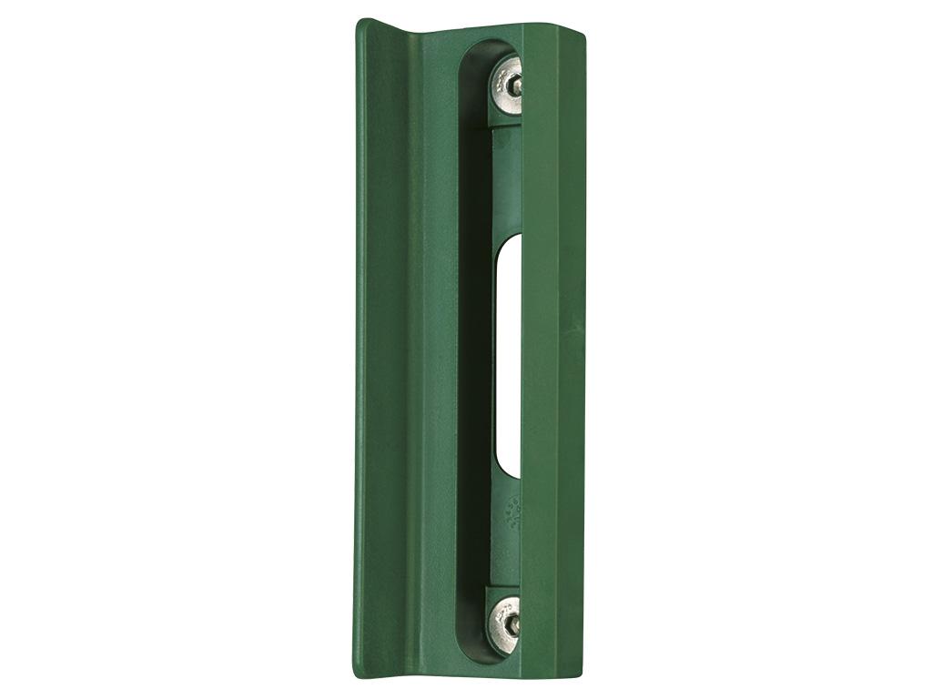 Doraz křídlové branky nebo brány SMKL QF -zelený LOCINOX 0,18Kg