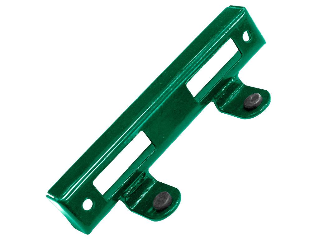 Doraz branky kovový, zelený 0,15Kg