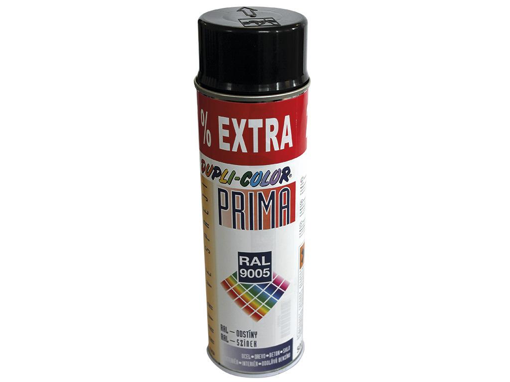 Sprej, černá barva RAL 9005 0,4Kg