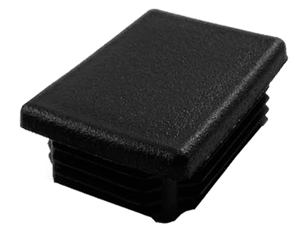 Čepička PVC 60x40mm, černá 0,02Kg