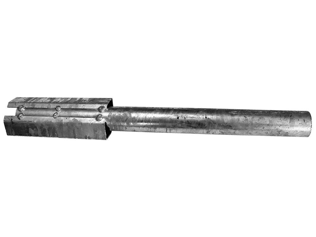 Přechodka do vrutu na čtyřhranný sloupekx60x60mm 2Kg