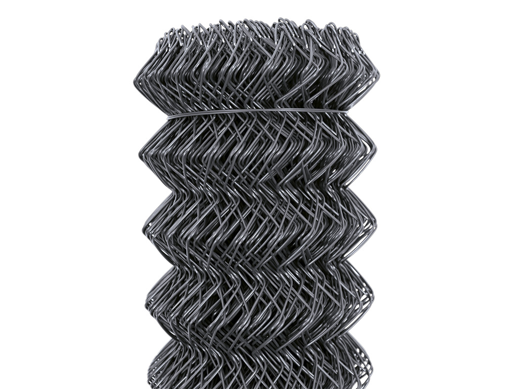 Čtyřhranné pletivo IDEAL PVC KOMPAKT 100cm/55x55/25m -1,65/2,5mm, antracit 20Kg
