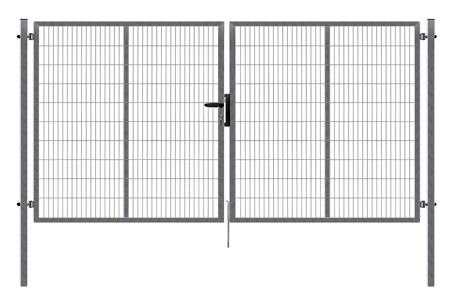 Brána PILOFOR SUPER dvoukřídlá, 4110x1780 mm, Zn 79,5Kg
