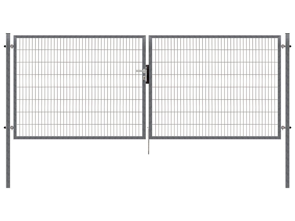 Brána PILOFOR SUPER dvoukřídlá, 4090x980 mm, Zn 40,8Kg