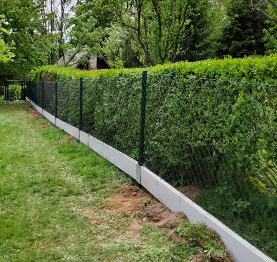 Čtyřhranné pletivo IDEAL PVC ZAPLETENÉ 150/55x55/25m -1,65/2,5mm, zelené 31,5Kg