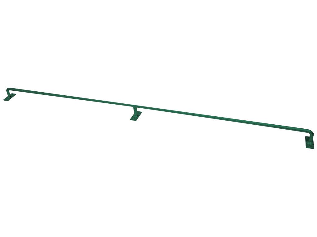 Konzole Zn + PVC 125cm, Ø 12mm, zelená 1,45Kg