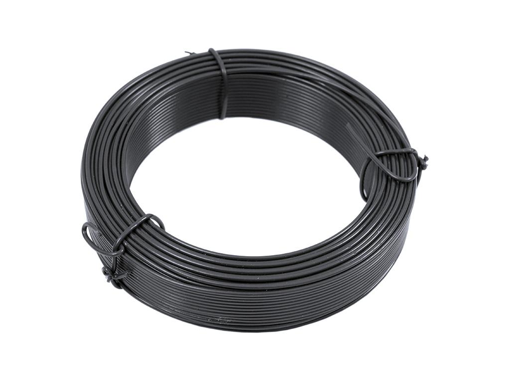 Vázací drát Zn + PVC 1,4/2,0 - 50m, antracit 0,57Kg